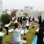 11/13(日)風と緑のガーデン(新大阪)にて、外ヨガイベント(マクロビランチ付き)を開催します♪