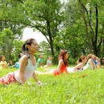2018年8月19日(日)関西最大級の外ヨガイベント「ロハスヨガ」開催します♪(大阪/難波宮公園)