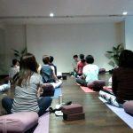 5/3 kikuko先生とRena先生による「Yoga×クリスタルボウル」ワークショップのレポートです